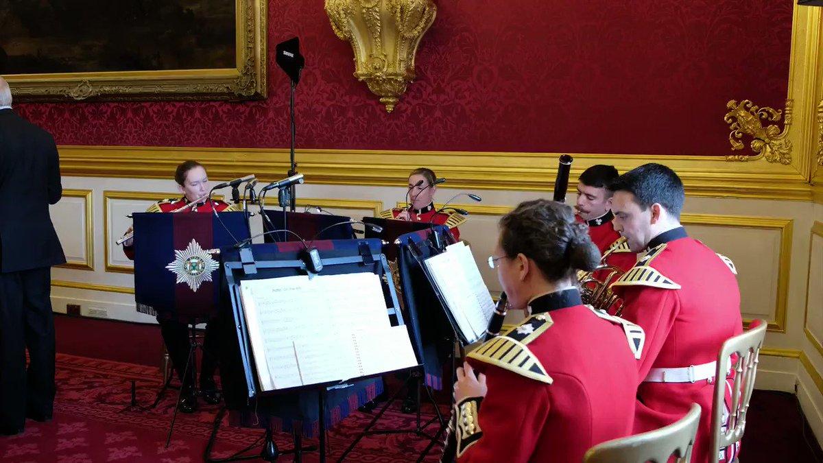 @nfassociation The Band of the Irish Guards (@IrishGuardsBand) provided some wonderful musical entertainment!
