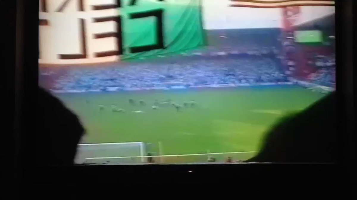 Only video of penalty that day  in 1990...
