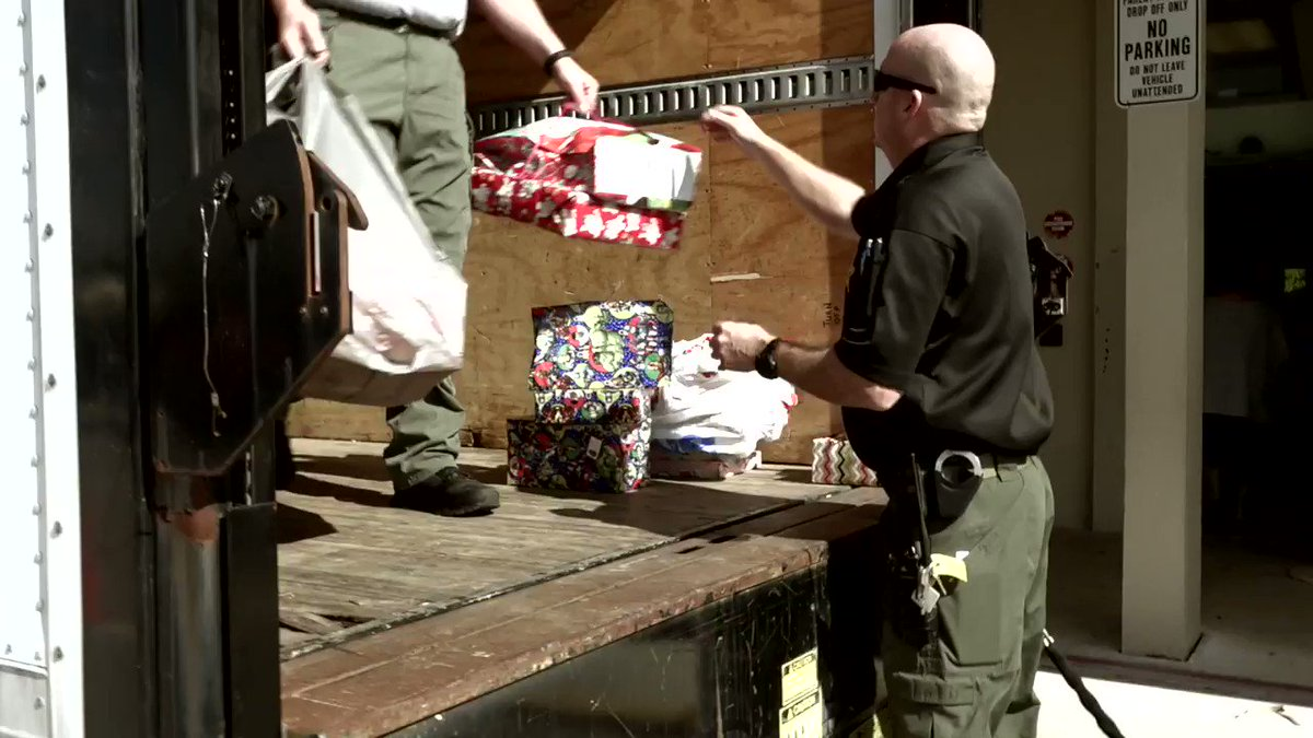 PBSO Employees donated over 168 presents to 56 children who were hand-chosen because, let's just say, they could've used some extra presents this holiday season. #PBSOProud #FridayFeeling