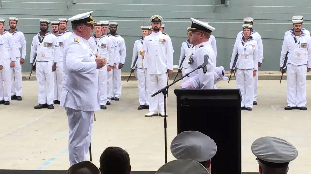 End of an era: ship now the former #HMAS...