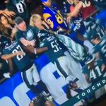 RT @AlexHolleyFOX29: That ONE Rams fan tho 😂  #Fly...