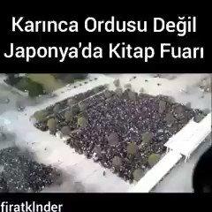 RT @Kotusunuz_: 'Bunlar karınca değil, Japonya'da kitap fuarında sıraya geçen Japon halkı' https://t.co/HQq5zf2v8P