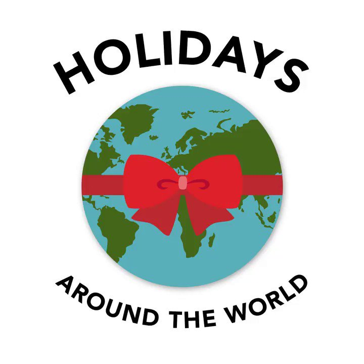 Sharing the holiday cheer with everyone around the world.