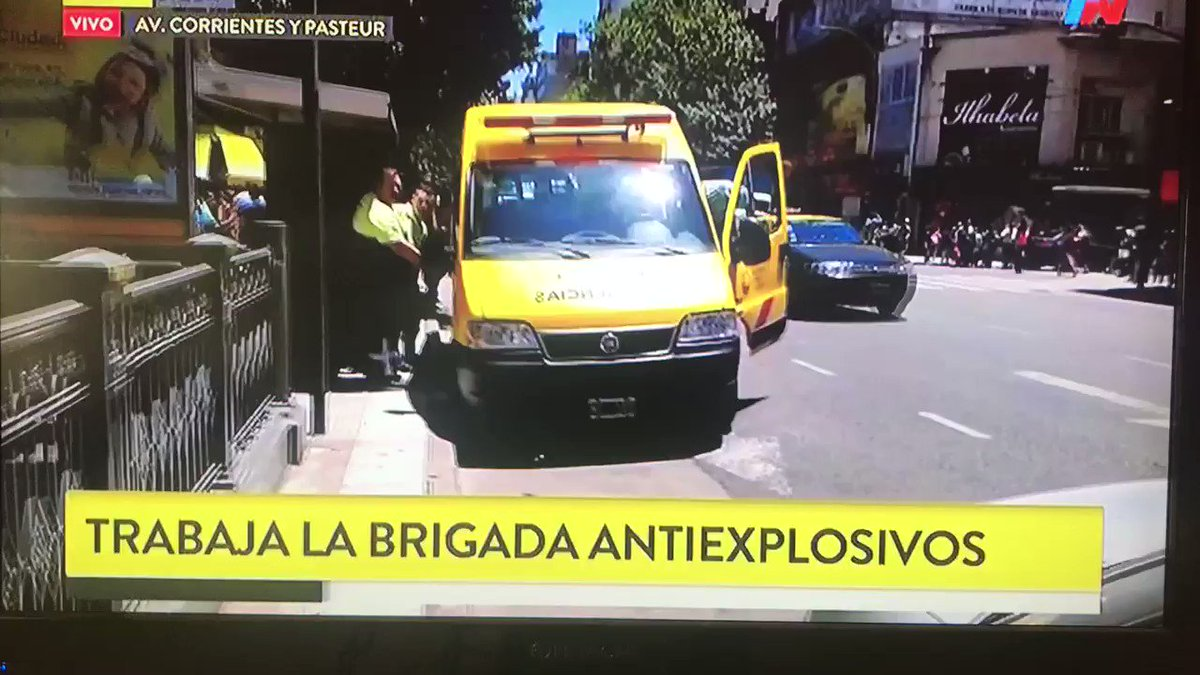 AMENAZA DE BOMBA EN EL SUBTE  ARRANCÓ LA...