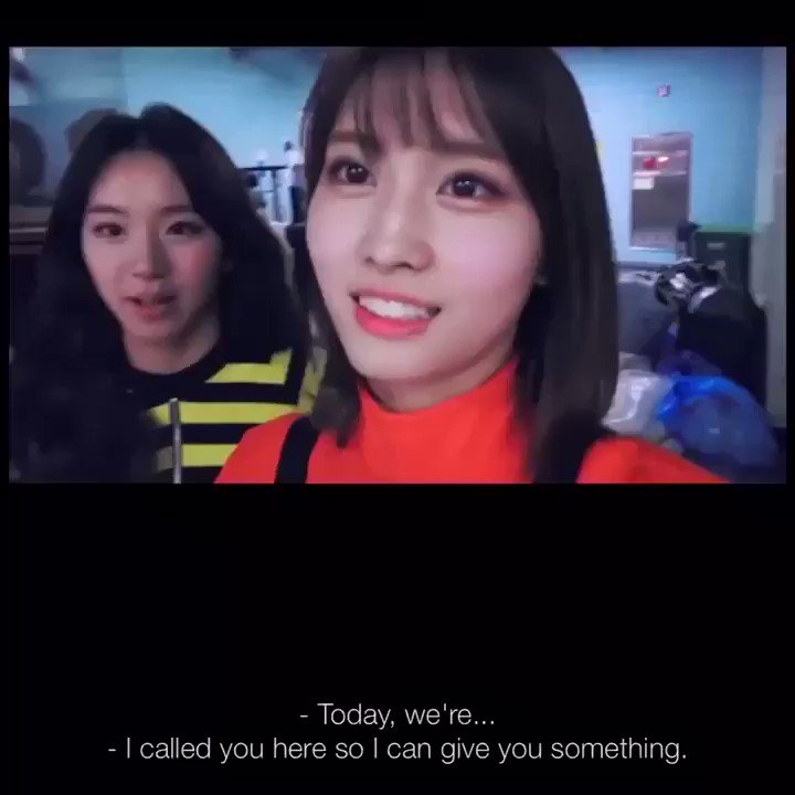 thinking about that time chaeyoung surprised momo with a barbie. i hope the members spoil her like this again today 🥺 #HappyMOMOday #DancingMachineMOMO #OurLovelyMOMOday
