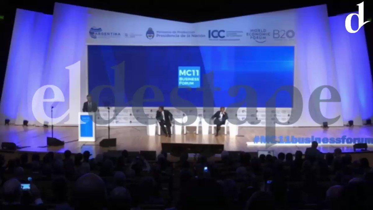 El incómodo chiste de @mauriciomacri a un inversor chino en la cumbre de la OMC https://t.co/MUT9uWSQan
