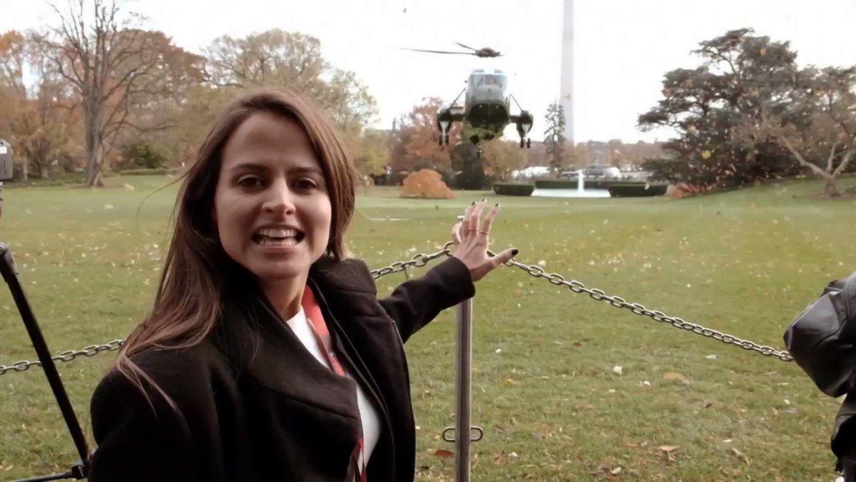 Adorei a chamada da @GloboNews que mostra um pouquinho dos nossos dias de reporter na imprevisivel Casa Branca de Donald Trump. O que acharam?