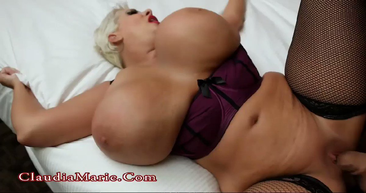 The many tits of claudia marie
