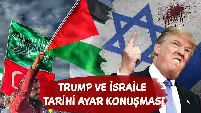 Trump ve İsraile Tarihi Ayar Konuşması...