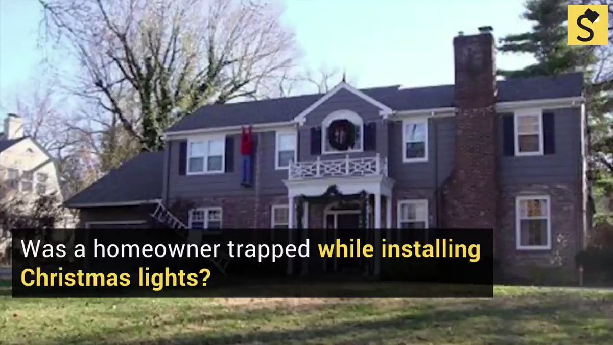 349db39be Fact Check  Was a Homeowner Trapped While Installing Christmas Decorations   Full Report  https