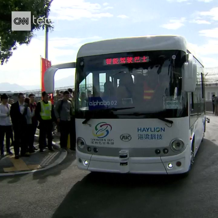 These smart, self-driving buses are bein...