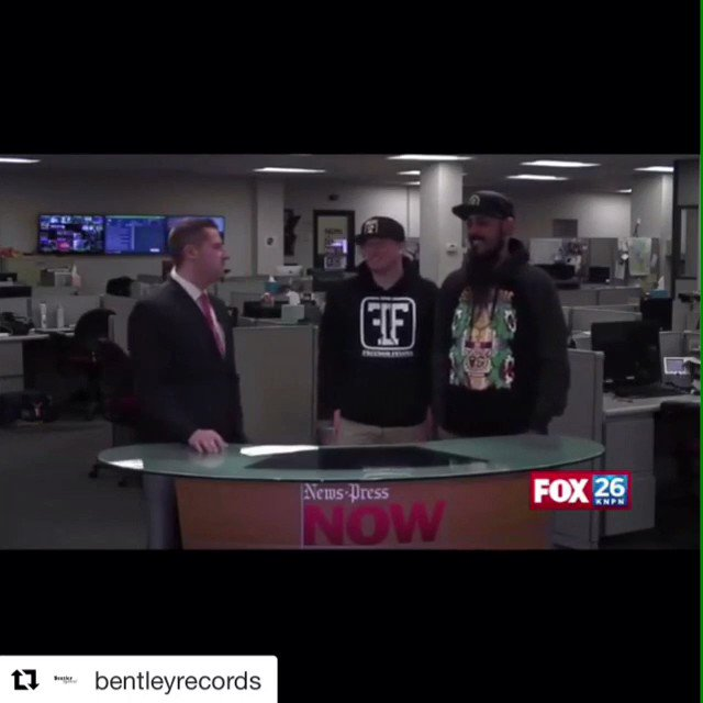 Always a great feeling to see our artists on TV!  Here's @MadMax_BGOD promoting his second nationwide tour with our friend and fellow artist @WileHaze #HOLIDAZEHAZETOUR #Tour #LiveMusic #BentleyGang #Events #BGOD #Promo #Retweet #Music #HipHop #Rapper #Kansas #RT #NewMusicFriday
