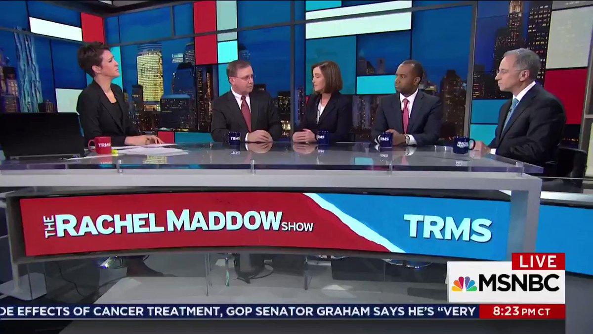 RT @MaddowBlog: McQuade: Trump smears of FBI are anti-law enforcement, pro-criminal. https://t.co/f3XRtjc0km