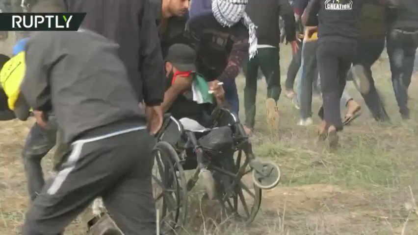 RT: @rt_com :IDF shoots dead disabled man in wheelchair during Jerusalem protest in Gaza https://t.co/nxlJ9S2z1Y https://t.co/PqKTe1SauN