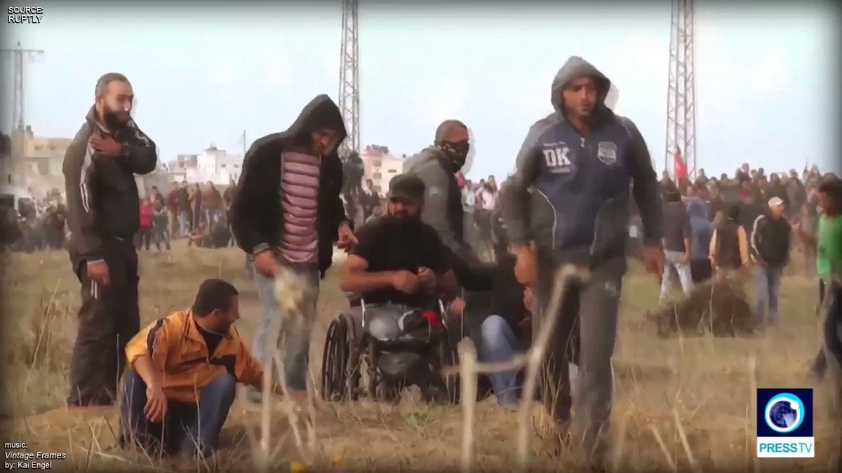 Watch: #Israeli forces killed this wheel...