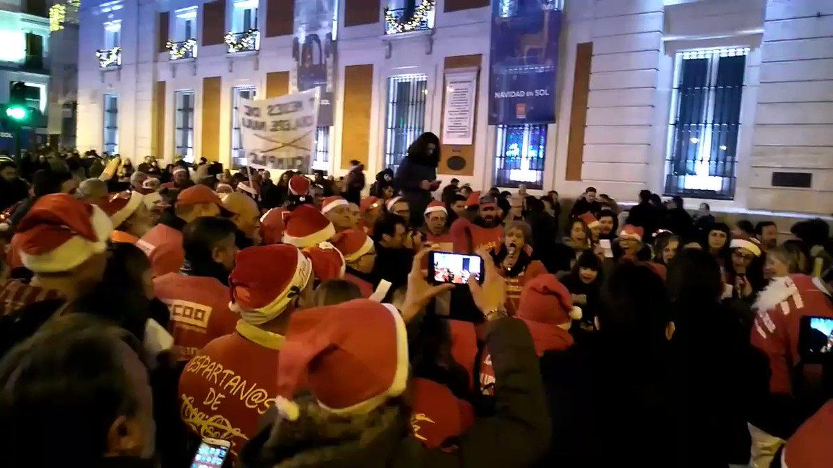 El villancico de esta Navidad es el de @cocacolaenlucha !! https://t.co/bxT3gFDNzO