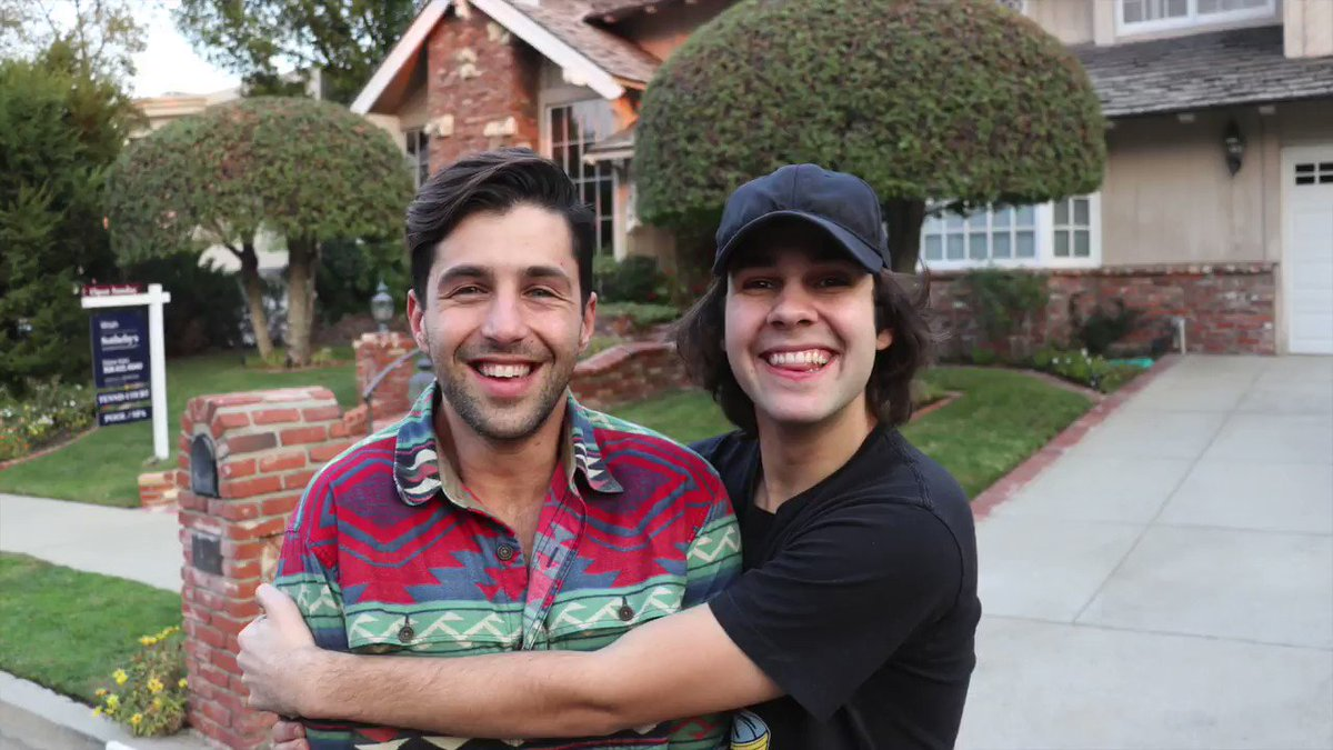 I surprised Josh Peck with his house fro...
