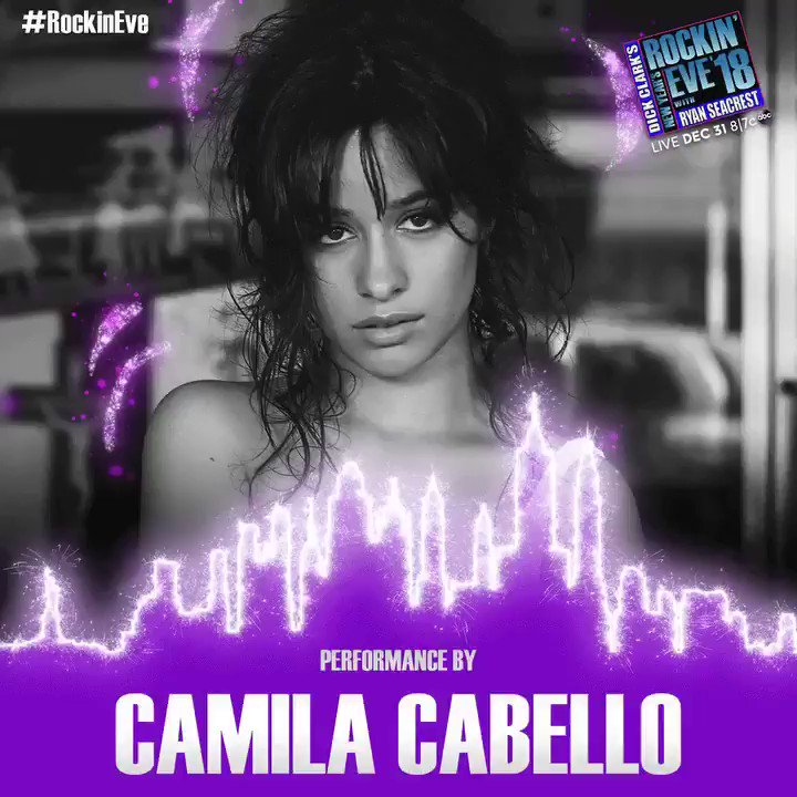 Don't miss @camila_cabello performing live on #RockinEve! Tune in 12/31 at 8/7c on ABC #CamilaxRockinEve ������ https://t.co/NYELwfqunI