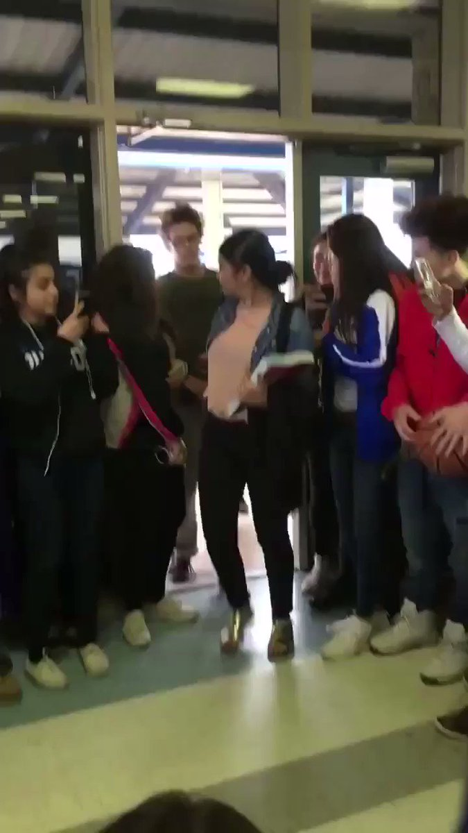 A high school student with size 13 feet had been wearing size 10 shoes. When word spread his kicks were too small, his classmates surprised him with two early Christmas presents.