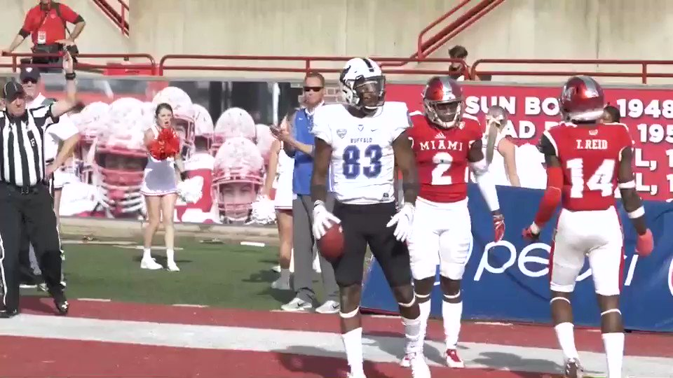 Juco route out of high school,was released second year to another juco. Didn't have good season @UBFootball seen talent in me, came in hurt,red shirted. Very upset but never gave up n kept working. Became a starter now I'm the #1 receiver In the MAC Never give up,Keep God 1st🙏🏽