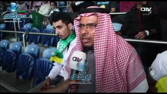 RT @BrkaQ8: فيديو| مشجع سعودي: تم منع دخول لافته كتبت فيها .. أتمنى للشيخ طلال الفهد الشفاء العاجل  #الديربي_الخليجي https://t.co/1eV3ZlHqMK