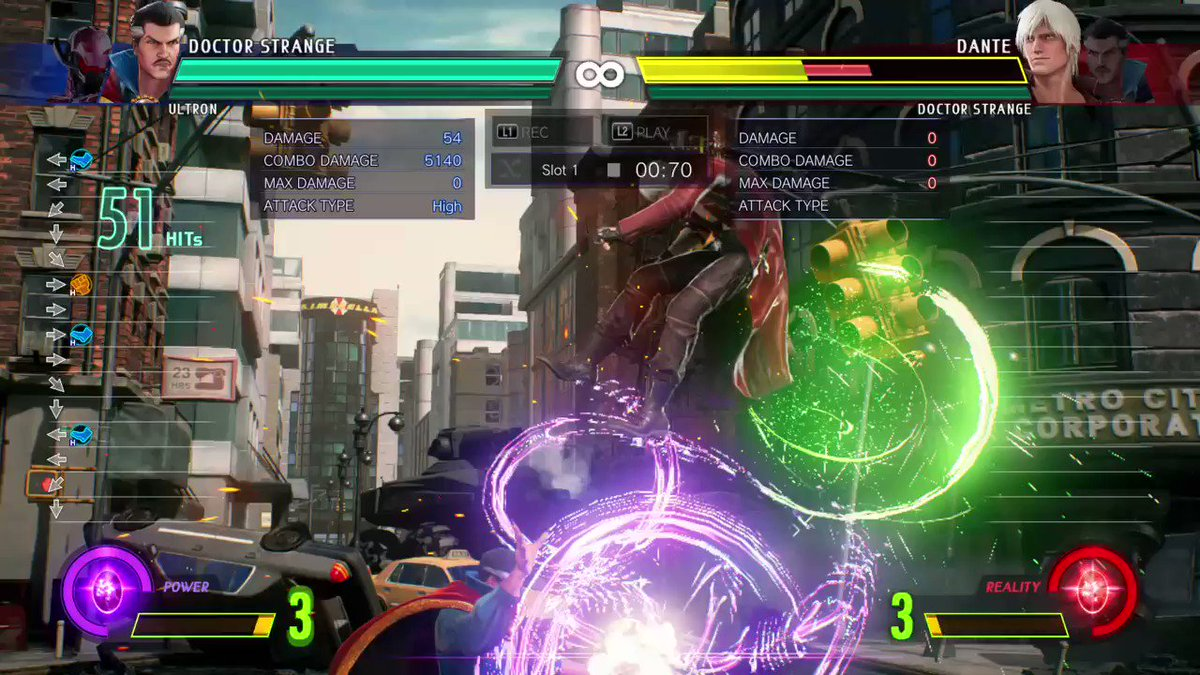 New combo using the buffed hitstun EoA got last patch. 5 Eyes solo!!! #MvCi #MvCitech