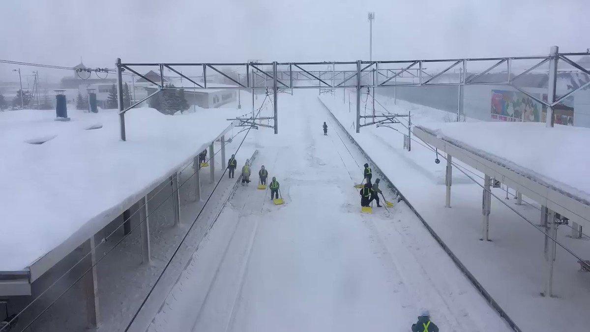 極寒地域の電車はこんなに大変! JR北海道の壮絶さを物語る映像がコチラ!