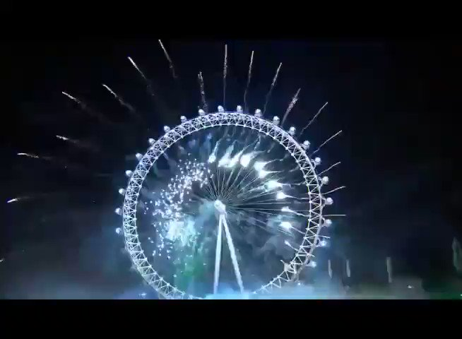Be The One played during the London NYE...