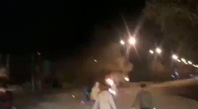 #شاهد | اشتباكات عنيفة في #الأحواز المحت...
