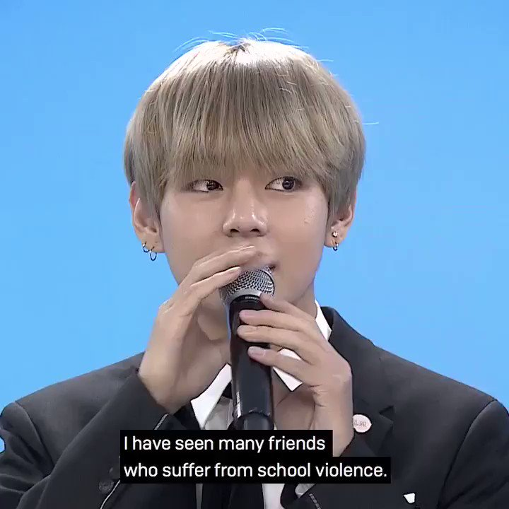 TaeTae wants to help out those who suffe...