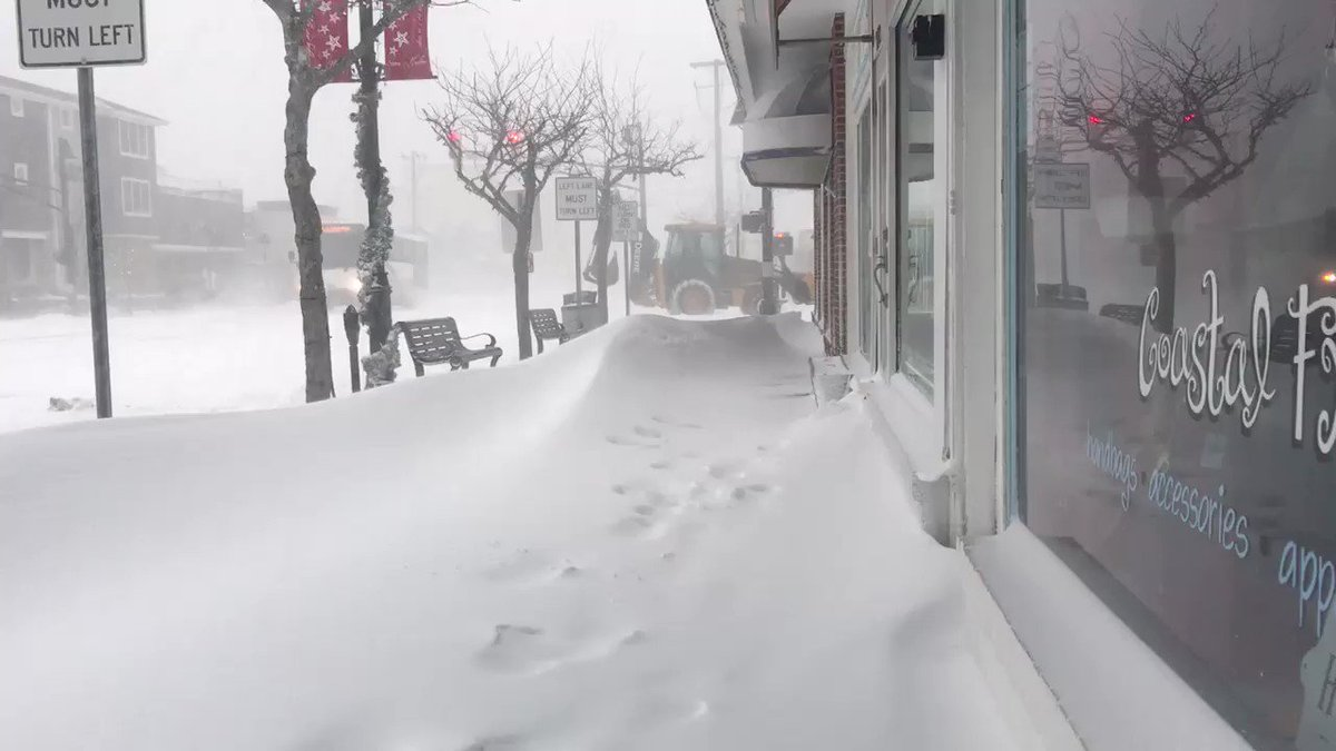 Images and video pour in as 'bomb cyclone' buries U.S. northeast