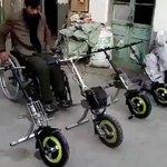 この発想は無かった! 車いす に前輪をつけるだけでバイクに早変わり!?