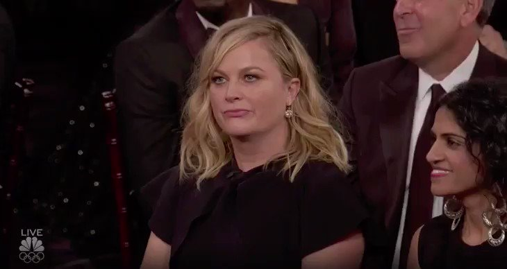 Amy Poehler is all of us. �� #GoldenGlobes https://t.co/tBBMOkgpJg