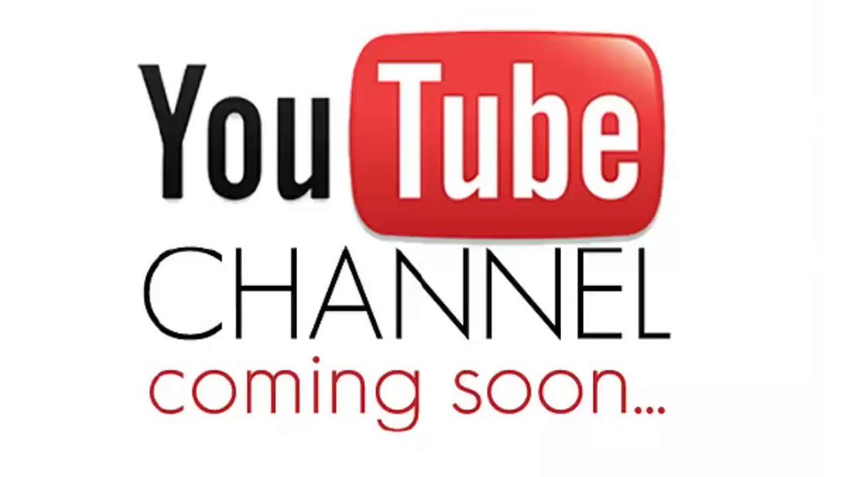 Image result for youtube channel coming soon