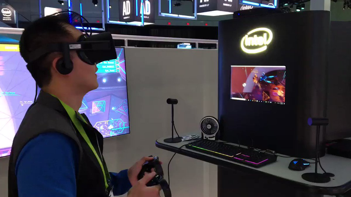 Intel Hades Canyon NUC is the smallest VR gaming rig I've ever seen (hands-on)