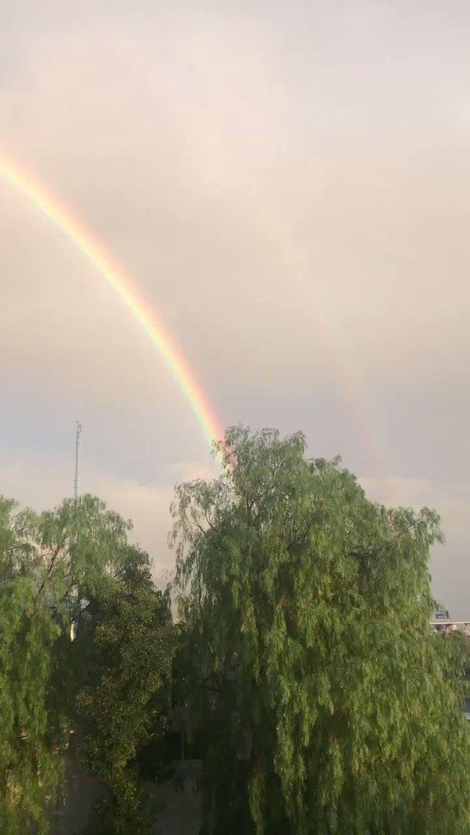 🌈🌧😍❤️ #arcoiris #lluvia #rainbow #rain #...