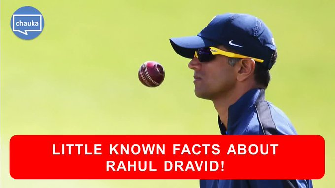Happy 45th Birthday to the Indian Cricket Team legend, \The Wall\ Rahul Dravid!