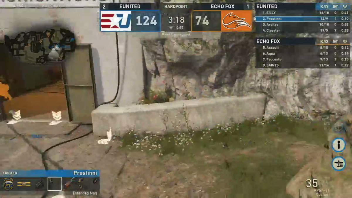 .@Clayster is unstoppable with the STG t...