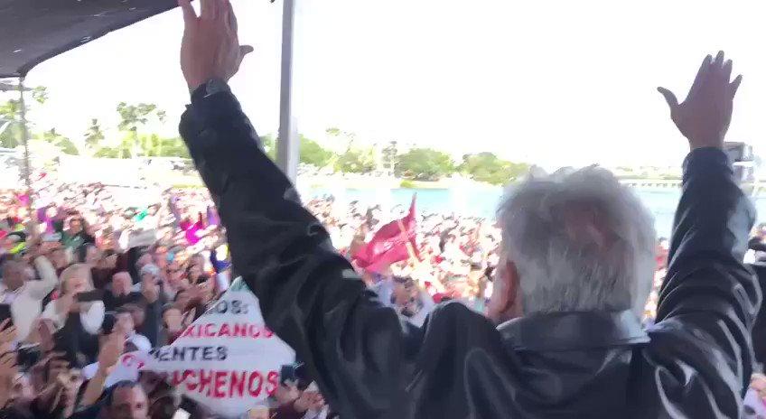 RT @lopezobrador_: Mucho entusiasmo y participación en Tampico. https://t.co/pyp9vy45w7