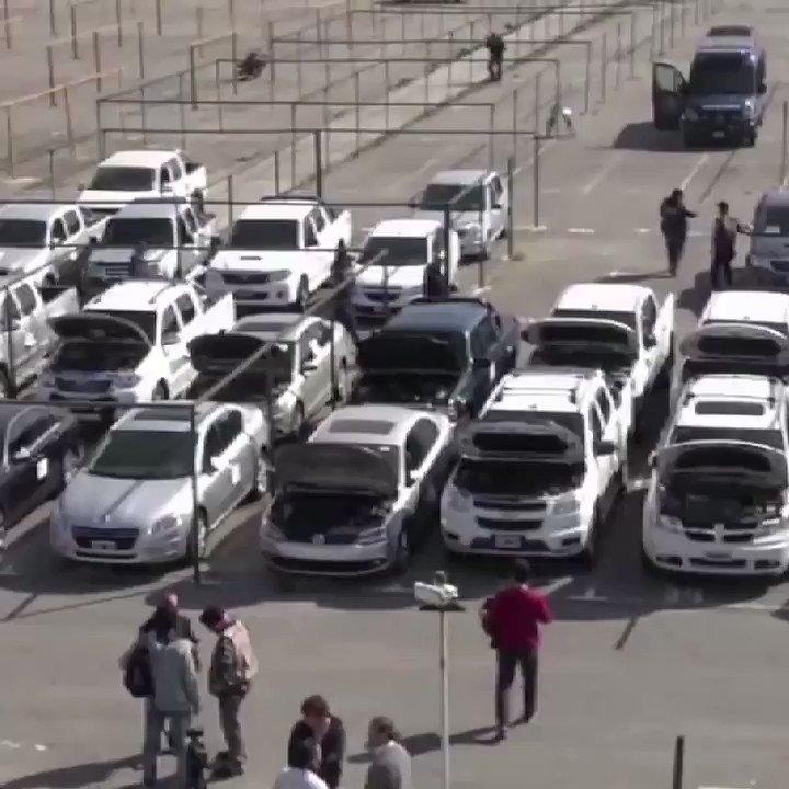 Autos recuperados del narcotráfico Estos...