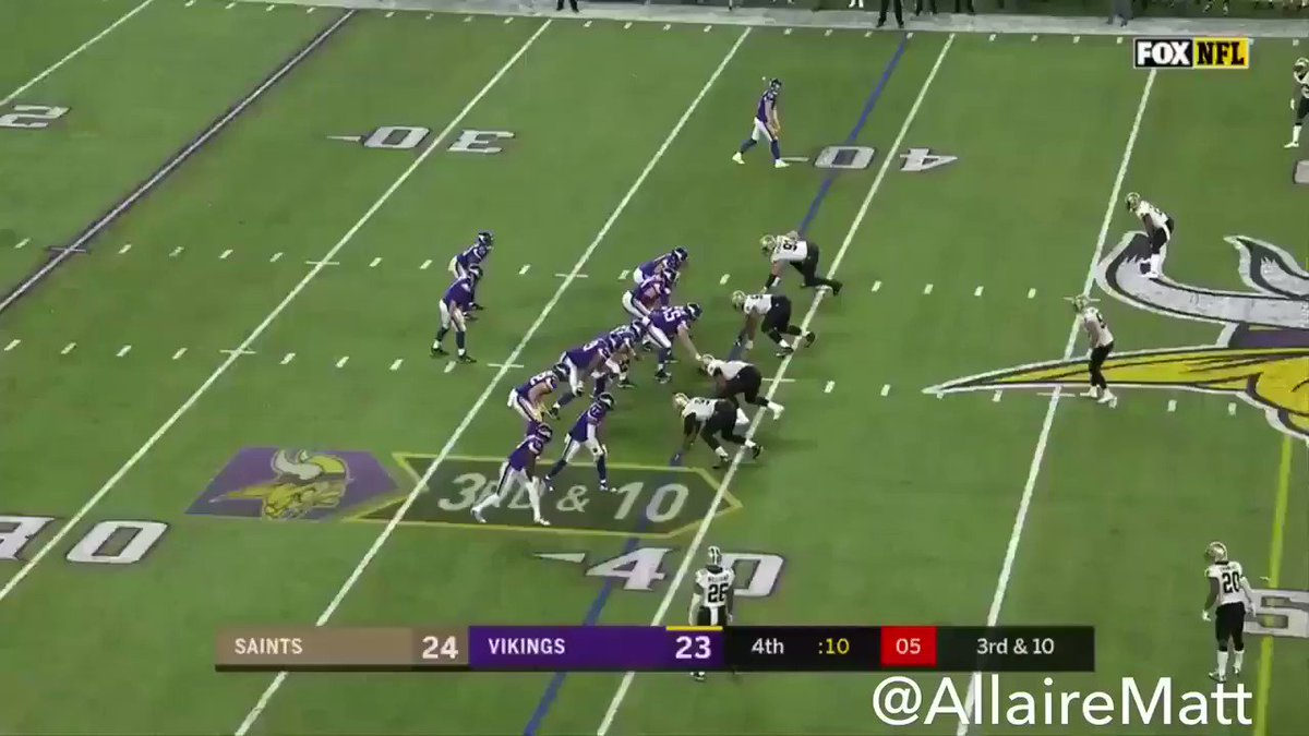 RT @AllaireMatt: CASE KEENUM TO STEFON DIGGS FOR THE WALK-OFF TOUCHDOWN TO BEAT THE SAINTS + TITANIC MUSIC #NOvsMIN https://t.co/fdTvHRS9DV