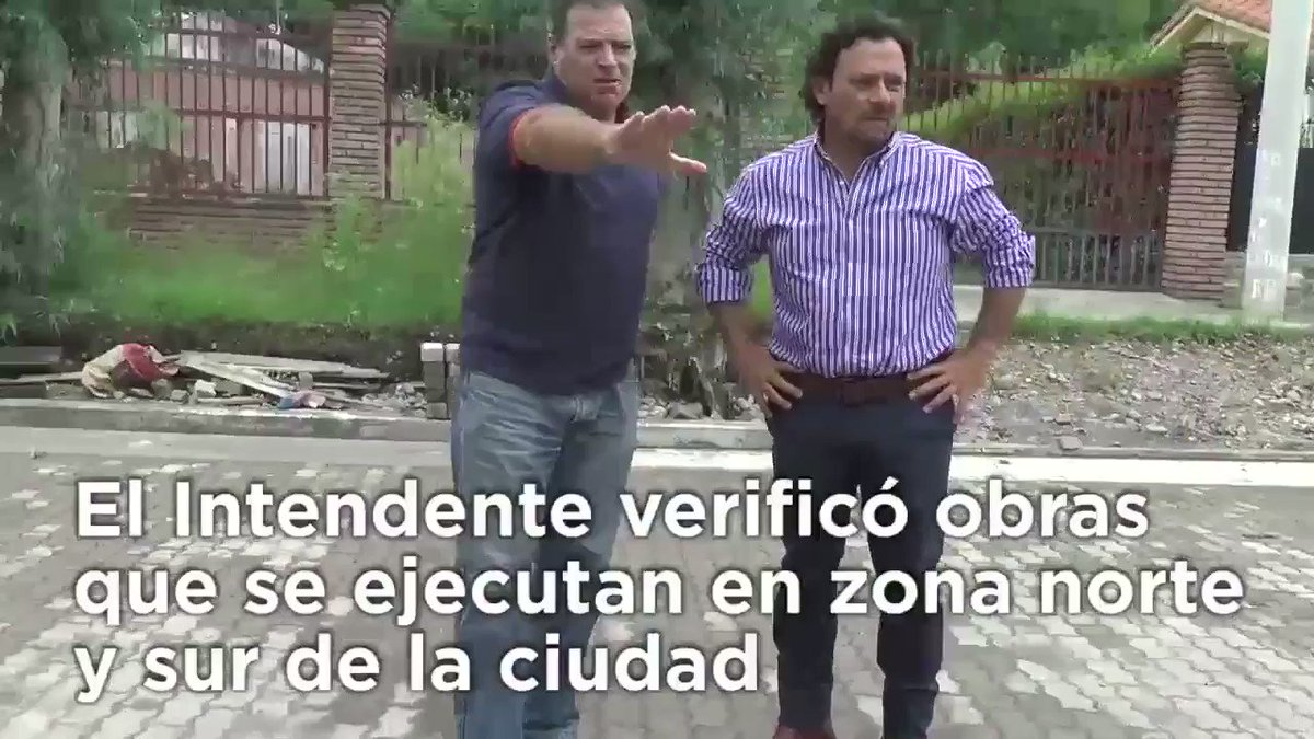 El intendente @GustavoSaenzOK verificó o...