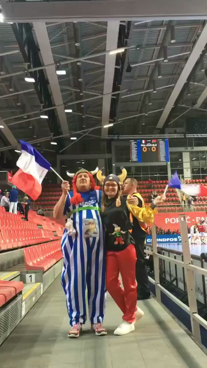 RT @EHF_Live: Look who came to cheer for @FRAHandball 🇫🇷 #FRABLR https://t.co/yLuIoqeLoX