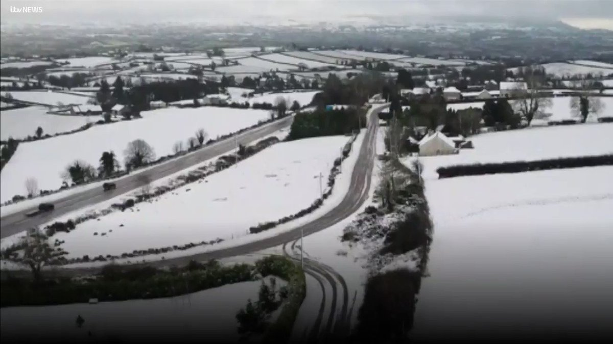 RT @utv: Heavy snowfall has been causing disruption across Northern Ireland today. https://t.co/58tTJSWZnG