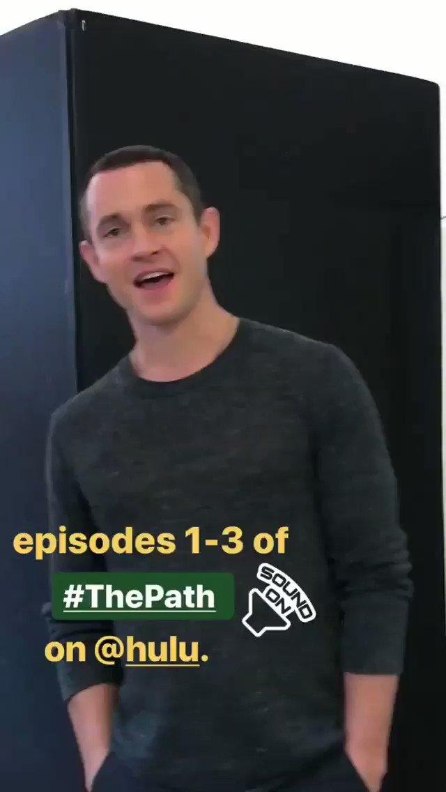Hugh Dancy on @ThePathOnHulu IG! #HughDancy #ThePath