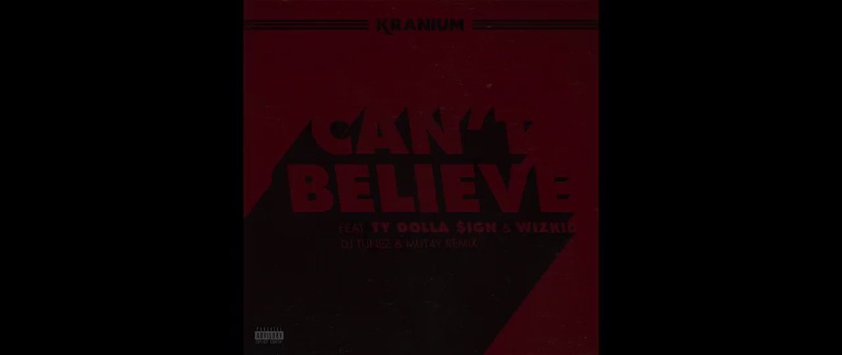 Can't Believe Remix Out Now! 💥 @therealk...
