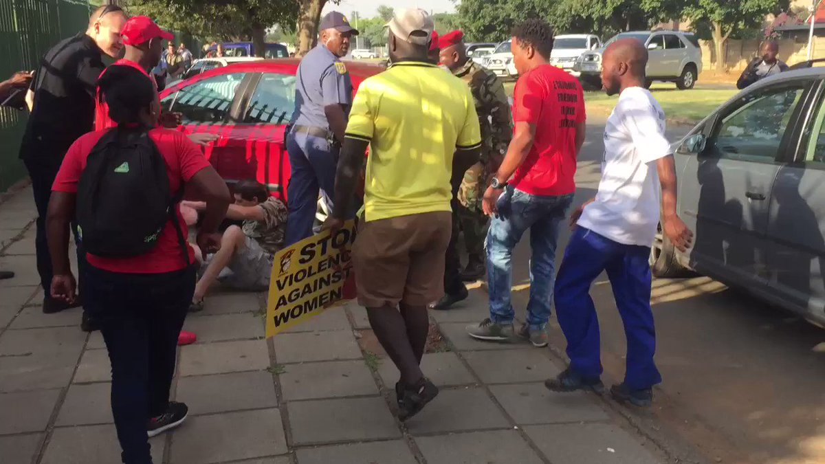 Watch: EFF supporters beat up a parent a...