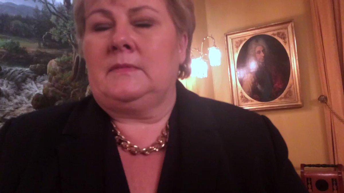 «JEG BEKLAGER PÅ DET STERKESTE AT DE HAR OPPLEVD NOE SÅNT»  Dette vil statsminister og partileder Erna Solberg si til kvinnene som har varslet i Tonning Riise-saken (som hun først omtalte som «en lei sak for både Tonning Riise og Høyre»).