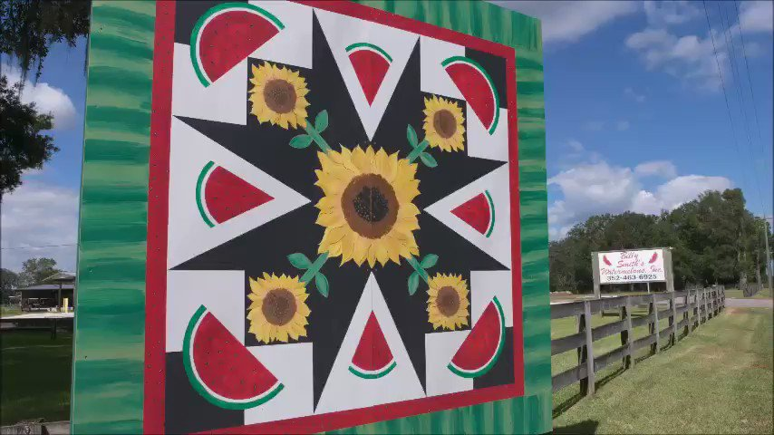 Take a drive through rural Florida and explore the Florida Quilt Trail. #LoveFL https://t.co/6sf889WM7Y