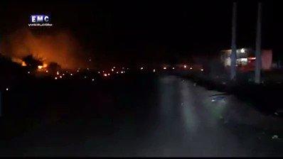 #شاهد | طيران الإحتلال الروسي يقصف مدينة #سراقب في ريف #إدلب بالنابالم الحارق #سوريا https://t.co/2CHLUllt5y